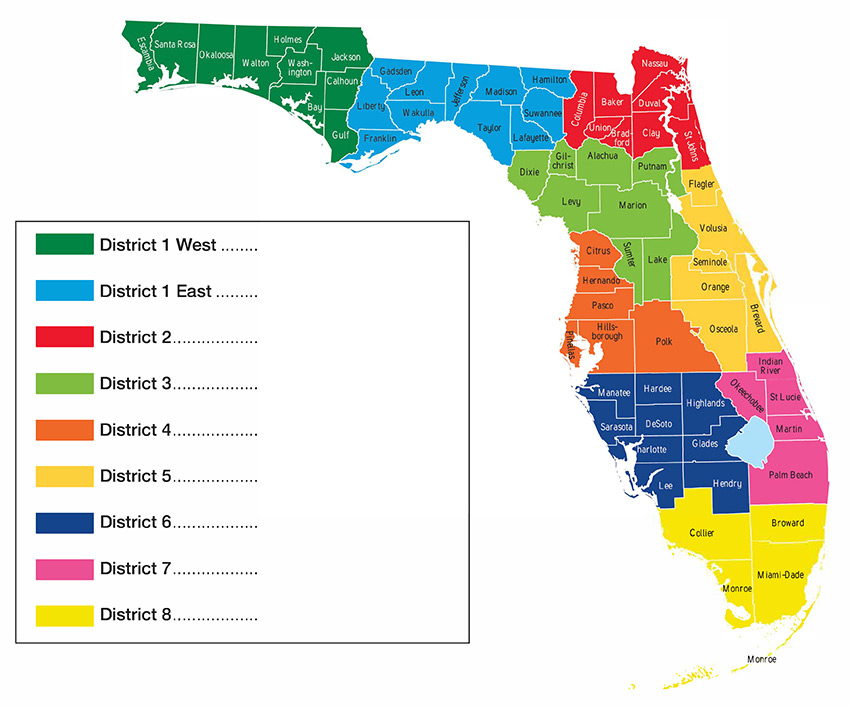Florida Districts