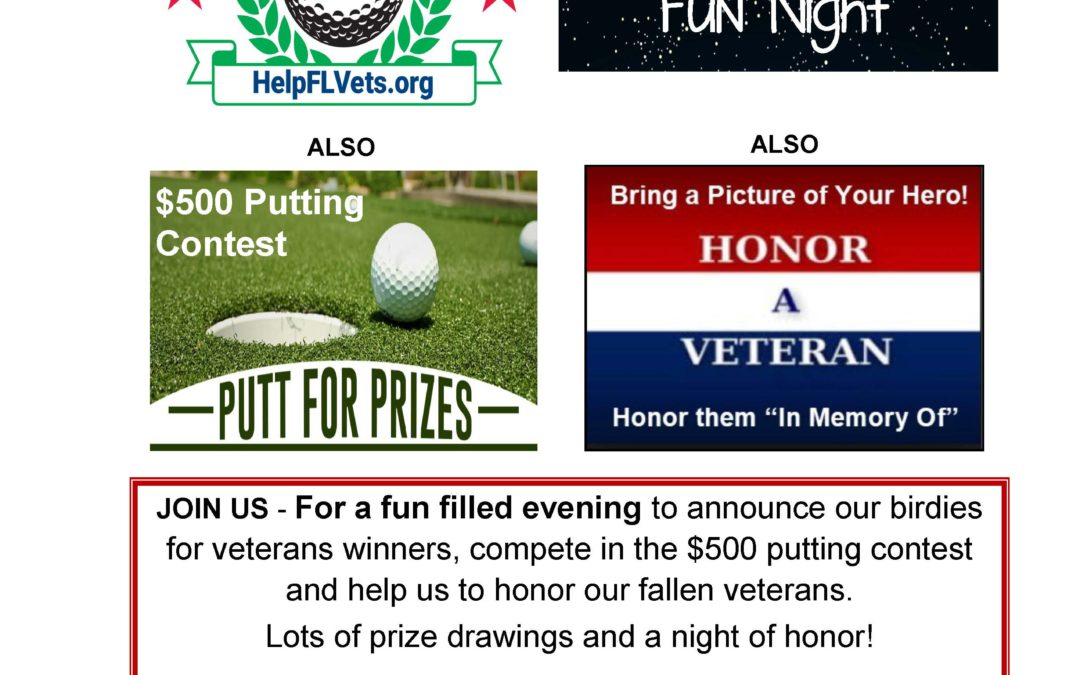 Winners Announcement Fun Night