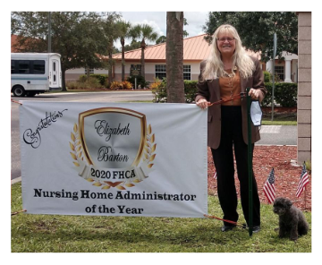 Good News: Nursing Home Administrator Honored