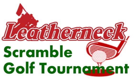 Leatherneck Scramble Golf Tournament Logo